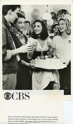Courtney Thorne Smith Claudia Wells Fast Times At Ridgemont High 86 Cbs Tv Photo