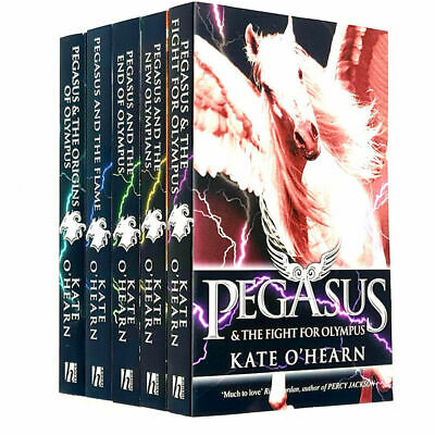 Kate O'Hearn Pegasus Series 1-6 Collection 6 Books Set Fight for Olympus PB
