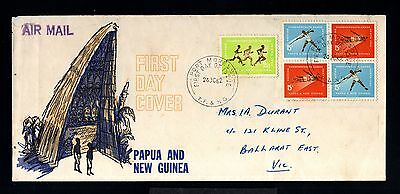 12728-PAPUA & NEW GUINEA-FIRST DAY AIRMAIL COVER P.MORESBY to BALLARAT.1962.FDC