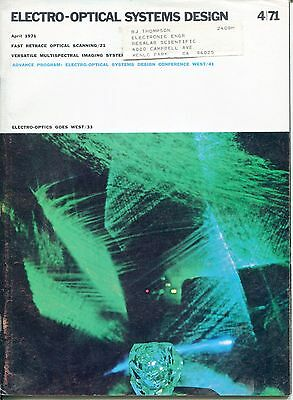 "1971 Vintage Magazine: ""ELECTRO-OPTICAL SYSTEMS DESIGN"""