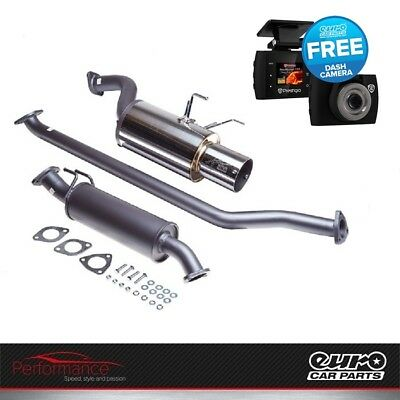 HKS HI-Power 409 Exhaust Muffler Honda Civic Type R EP3 K20 32003-DH001