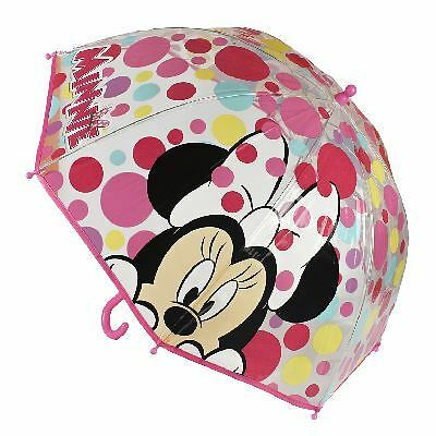 Children Kids Official Disney Characters Minnie Mouse Umbrella