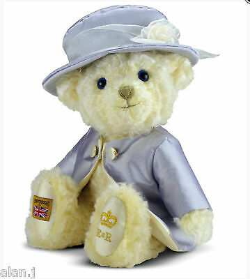 Merrythought Teddy Bear - Limited Edition HM Queen Elizabeth II  made In The UK