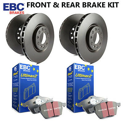 EBC Front and Rear Standard Brake Discs & Pads kit PD40K1758