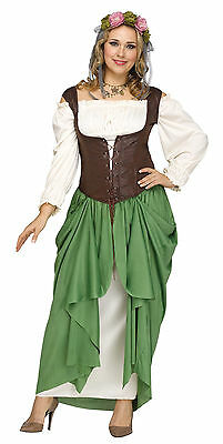 Wench - Adult Costume - Medieval Renaissance Game of Thrones