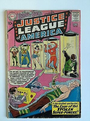 Brave and the Bold 30 (Complete!) 3rd app. Justice League; 1960; D.C. (c#04374)