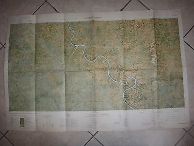 Vietnam War Color Photomap PICTOMAP SUPPLEMENT Sheet 6320 I S, As Of Year 1965
