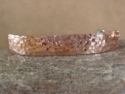 Navajo Indian Jewelry Copper Hammered Hair Barrette by Douglas Etsitty!