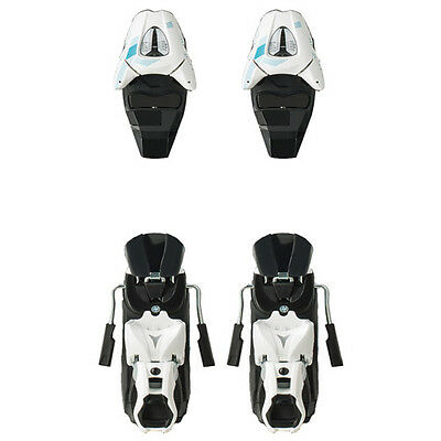 Atomic XTE 10 Wht/Sil/Turq Replacement Bindings (Upper Toe/Heel Assy's) NEW 80mm