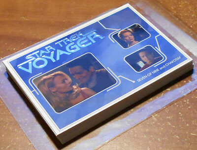 Star Trek Voyager Heroes&Villains ~ RELATIONSHIPS Insert Card Lot (15,no dupes)