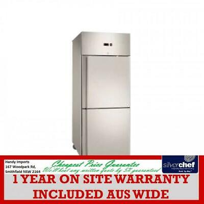 Fed Commercial Grand Ultra Double 1/2 S/s Door Upright Fridge 685L Gn Gn650Tnm