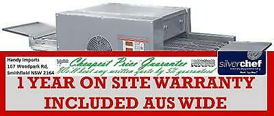 Fed Commercial Pizza Conveyor Oven With 3 Phase Power Belt Rotating Hx-1Sa/3N