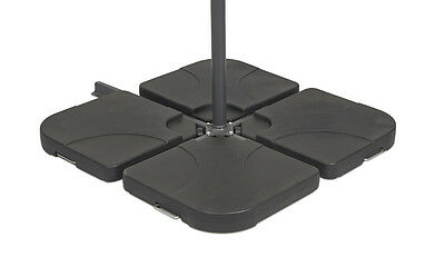 Square Parasol Base Strong Sturdy Base keeps Garden Parasol in Place No Tipping