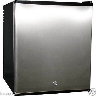 Compact Mini Bar Fridge - 48 Litres - Quiet Running - Stainless Steel Door