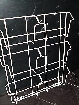 CD Wire Wall Retail Display White Small