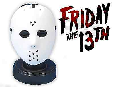 Jason Vorhees Voorhees Halloween Friday The 13Th Style Hockey Mask Fancy Dress