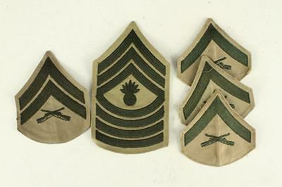 Vintage WWII Korea Military Lot US Marine Insignia MOS Uniform Patches