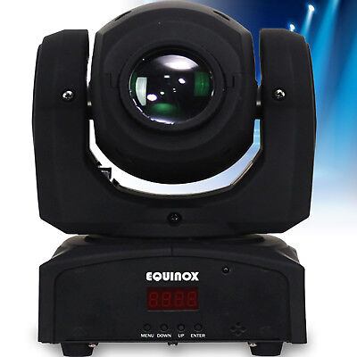 Equinox DJ Fusion Spot Mk II LED DMX Pocket Moving Head Lighting Effect Disco FX