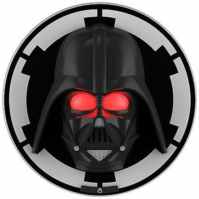 Official Star Wars Darth Vader 3D Led Wall Light - Auto Switch Off 15 Mins New