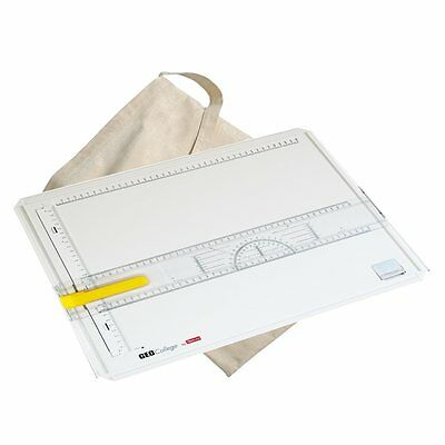 Aristo College A3 Technical Drawing Board Including Bag. Artists Portable Board.