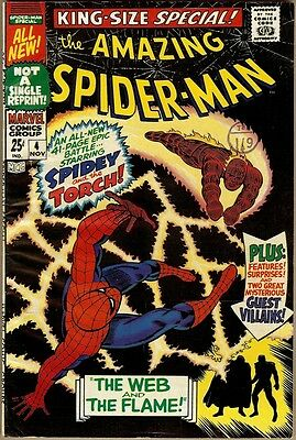 Amazing Spider-Man Annual #4 - FN-