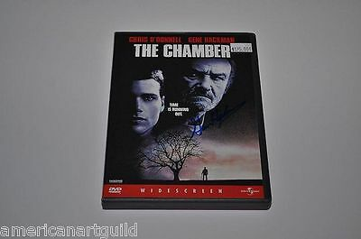 GENE HACKMAN Signed THE CHAMBER Autograph