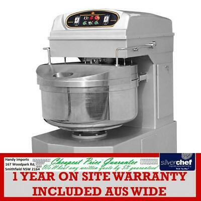 FED Heavy Duty commercial Two-Speed Spiral Mixer 80kg dough bakery pizza HS130A