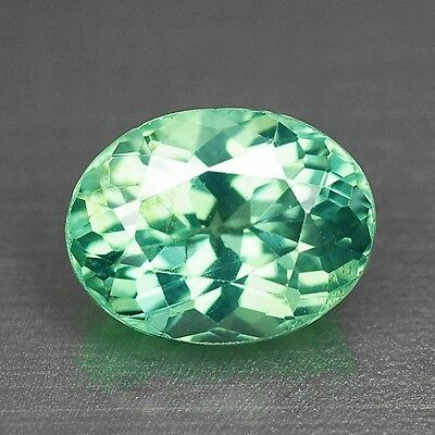 1.39 Cts TOP QUALITY RARE NEON GREEN COLOR NATURAL APATITE LOOSE GEMSTONES- VS