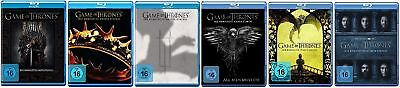 Game of Thrones Staffel 1-6 (1+2+3+4+5+6) Blu-ray Set NEU OVP