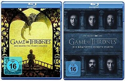 Game of Thrones Staffel 5+6 Blu-ray Set NEU OVP