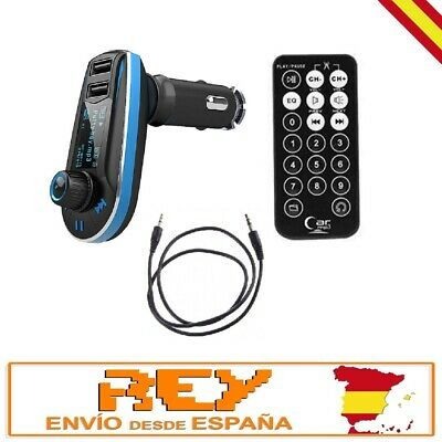 Transmisor Radio FM BLUETOOTH MP3 para Mechero de Coche ¡Nuevo!  m05