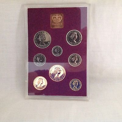 1970 Royal Mail Coinage Set Great Britain Northern Ireland Bunc Boxed Last Lsd