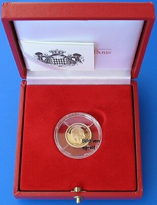 ### 10 Euro Gold Pp Monaco 2005 ### Original ## Rar ###