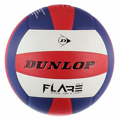 Dunlop Flare Volleyball 18 Panel Machine Stitched Balls Outdoor Sports Equipment