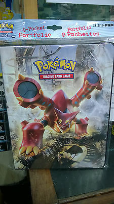 Pokemon Steam Siege XY11 Xerneas 9 Pocket Page Portfolio Album Binder Holder New