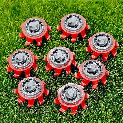 14pcs Golf Shoes Spikes Fast Twist Cleat Replacement For Footjoy Random Color