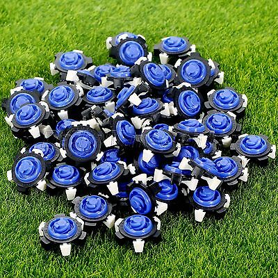 14/56Pcs Golf Shoe Spikes Fast Twist TriLok Replacement Champ Cleat Random Color