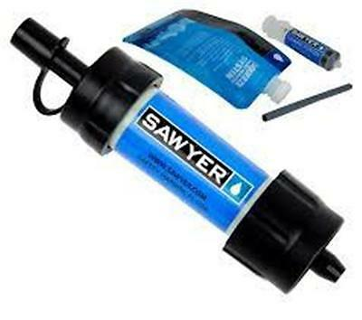 Sawyer Mini Water Filtration Kit Blue Filters up to 100,000 gallons SP128