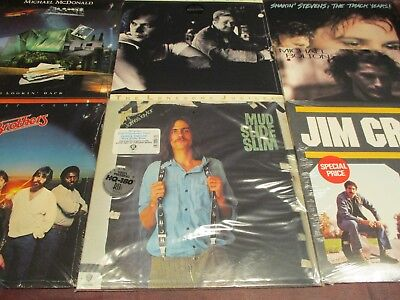 70'S Artists Croce Taylor Doobies Mcdonald Mellencamp Stevens Bolton 7 Lp Set