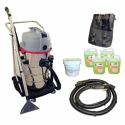 Contractor Carpet Upholstery Cleaner Valet Cleaning Machine Business Start Pack