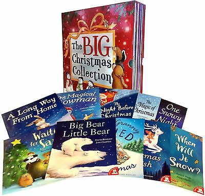 The Big Christmas Collection 10 Books Box Set Children Reading Bedtime Stories