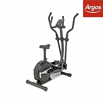 Roger Black Gold Magnetic 2 In 1 Cycle-Elliptical Cross Trainer -From Argos ebay