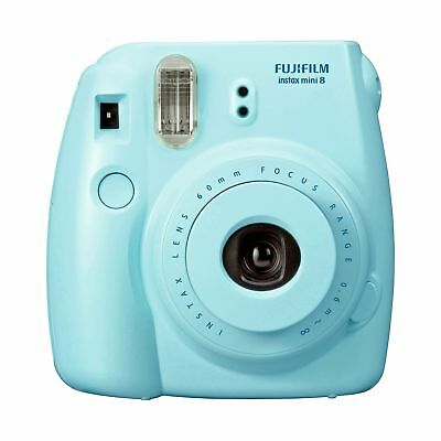 Fujifilm Instax Mini 8 Instant Camera with 10 Shots - Blue -From Argos on ebay