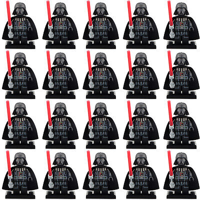 20pcs-lot-Darth-Vader-With-Red-Lightsaber-New-Version-Star-Wars-Minifigure-toy