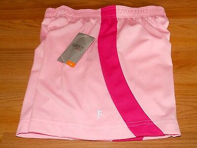Girl's Size Medium 7-8 Danskin Now Light Pink Active Athletic Shorts New NWT