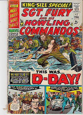 SGT. FURY & His Howling Commandos #2 KING SIZE ANNUAL (1966)
