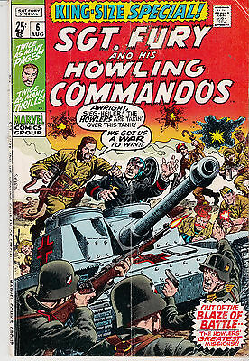 SGT. FURY & His Howling Commandos #6 KING SIZE ANNUAL SPECIAL (1970)