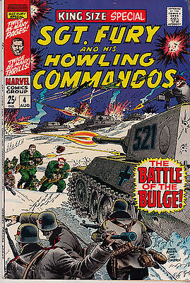 SGT. FURY & His Howling Commandos #4 KING SIZE ANNUAL SPECIAL (1968)