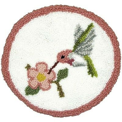 Hummingbird Pillow Punch Needle  Embroidery Kit