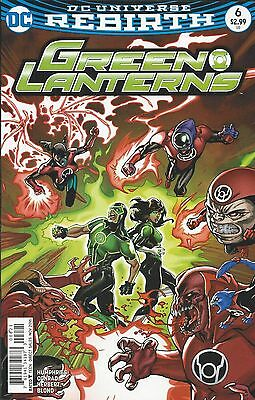 DC Green Lanterns Rebirth comic issue 6 Limited variant
